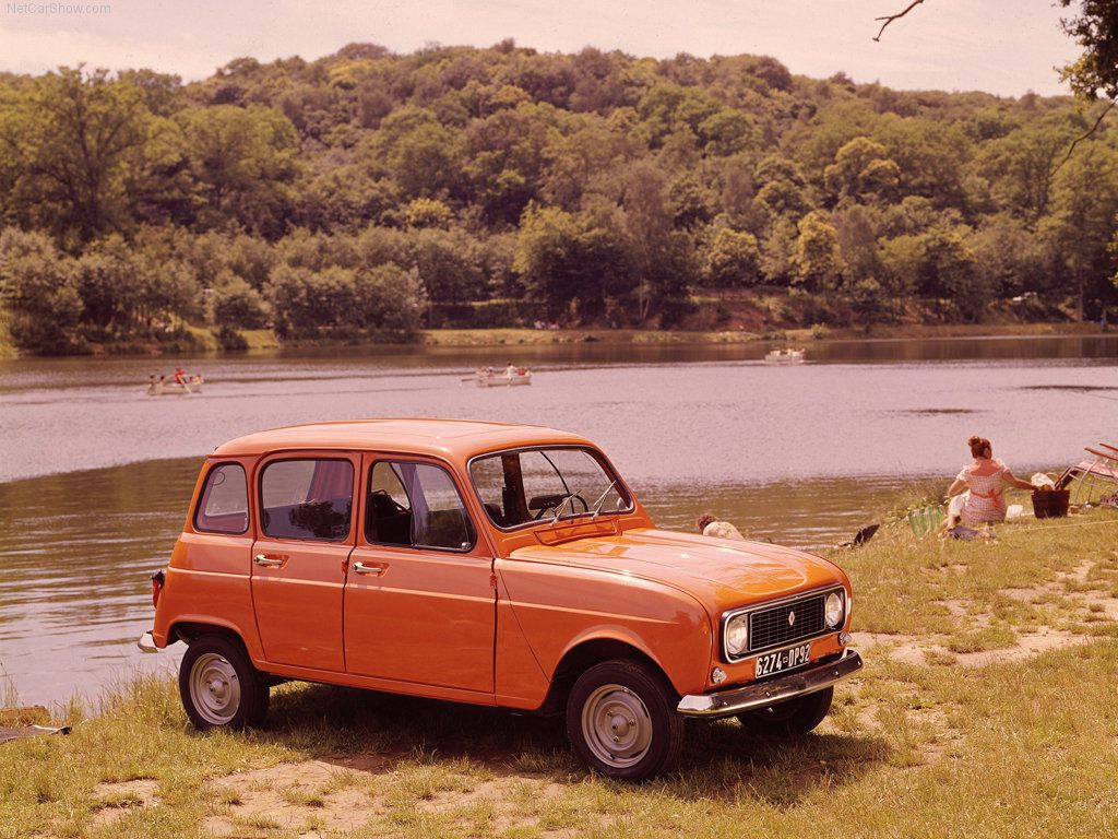 Renault 4 Luxe: 9 фото.