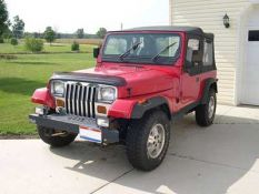 Jeep Wrangler and Wrangler Unlimited I (YJ)
